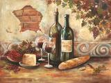 Bountiful Wine II Poster von Gregory Gorham