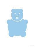 Blue Bear Posters av  Avalisa