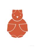 Orange Owl Affiche par  Avalisa