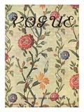 Vogue Cover - October 1909 Premium Giclee Print