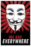 V for Vendetta, Nous sommes partout en anglais Posters