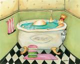 Tiny Bubbles Prints by Jennifer Garant