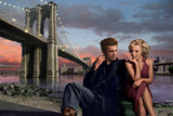 Brooklyn Nights Poster by Chris Consani