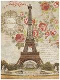Dreaming of Paris Posters van Suzanne Nicoll