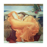June in Flammen Giclée-Premiumdruck von Frederick Leighton