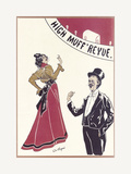 Gaiety Girls, High Muff Revue Premium Giclee Print by  The Vintage Collection