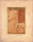 The North Wind Exklusivt gicléetryck av Frederick Cayley Robinson