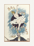 Gaiety Girls, Bal Des Incoherents Premium Giclee Print by  The Vintage Collection