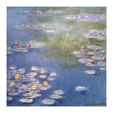 Waterlilies Impressão giclée premium por Claude Monet
