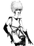 Olivia Kunstdrucke von Mona Shafer-Edwards