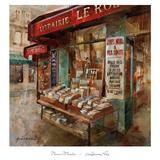 Librairie Paris Affiche par Noemi Martin