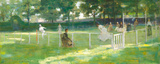 Sketch For The Tennis Party Premium Giclee-trykk av Sir John Lavery