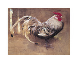 The Spangled Cock Reproduction giclée Premium par Joseph Crawhall