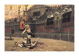 Pollice Verso, 1872 Premium Giclee Print by Jean Leon Gerome