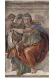Michelangelo Buonarroti (Ceiling fresco of Creation in the Sistine Chapel, scene in Bezel: The Delp Pôsters