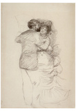Pierre-Auguste Renoir (Sudy for Dance in the Country) Art Poster Print Prints