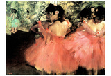 Edgar Degas (The Dancers) Art Poster Print Poster