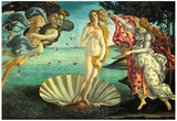 Botticelli (The Birth of Venus) Art Poster Print Poster