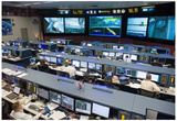 NASA Space Shuttle Flight Control Johnson Space Center Photo Poster Poster