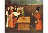 Hieronymus Bosch (The magician) Art Poster Print Posters