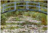 Claude Monet Le Pont Japonais Art Print Poster Prints