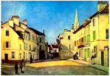 Alfred Sisley A Place in Argenteuil Art Print Poster Posters