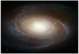 Hubble Photographs Grand Design Spiral Galaxy M81 Space Photo Art Poster Print Fotografia