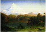 Albert Bierstadt Mt.Hood Oregon Landscape Art Print Poster Prints