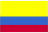 Colombia National Flag Poster Print Prints