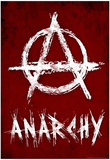 Anarchy Symbol Resistance Poster Posters