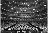 New York City Metropolitan Opera 1940 Archival Photo Poster Print Pósters
