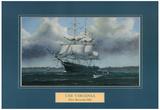 USS Virginia ship Paul R. Hee Art Print Poster Stampa