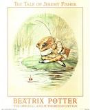 Beatrix Potter (Jeremy Fisher) Art Print Poster Pósters