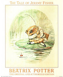 Beatrix Potter (Jeremy Fisher) Art Print Poster Pôsters