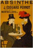 Absinthe Liquor Vintage Ad Poster Print Poster