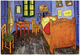 Vincent Van Gogh Bedroom Art Poster Print Photo