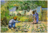 Vincent Van Gogh First Steps Art Print Poster Poster