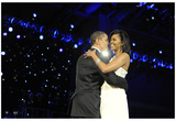 President Barack Obama (Dancing with Michelle Obama) Art Poster Print Posters