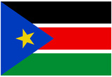South Sudan Country National Flag Print Poster Prints