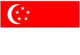 Singapore National Flag Poster Print Print