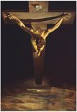 Dali Christ of St John of the Cross Art Print Poster Photographie