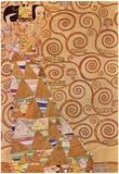 Gustav Klimt Anticipation Art Print Poster Prints