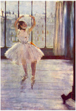 Edgar Degas The Dancer at the Photographer Art Print Poster Láminas