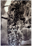 Gustav Klimt Medicine Print Poster Foto