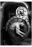 Lewis Hine Powerhouse Mechanic 1920 Archival PhotoPoster Foto