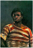 Lovis Corinth Negro Othello Art Print Poster Posters