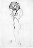 Gustav Klimt Madalane Art Print Poster Prints