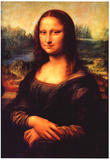 Leonardo da Vinci Mona Lisa 2 Art Print Poster Plakater