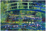 Claude Monet Water Lily Pond 2 Art Print Poster Posters