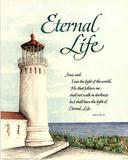 Eternal Life (Lighthouse) Art Print Poster Kunstdrucke
